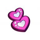 Форма для мыла 8 сердца 693