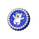 Форма для мыла Мишка снежки