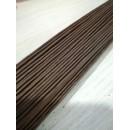 Флористическая проволока коричневый 1мм 40см 10 шт