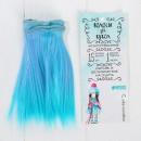 """Волосы - тресс для кукол """"Прямые"""" длина волос 15 см, ширина 100 см 3588460"""