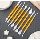 Набор инструментов для моделирования кондитерских украшений 8 шт (830293)