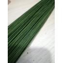 Флористическая проволока травяной зеленый 0,8мм 40см 10 шт