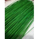 Флористическая проволока тропический зеленый 1,0мм 40см 10 шт