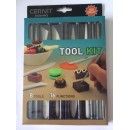 Набор инструментов для пластики Cernit, 8 предметов