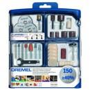 Набор многофункциональных насадок Dremel (724-150) 150 шт