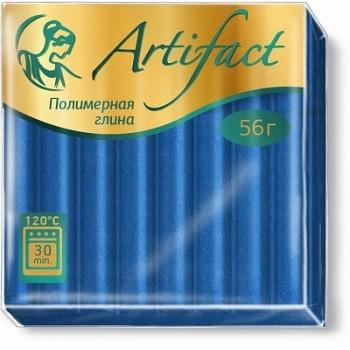 Artifact Glitter с эффектом блёстки синий 261