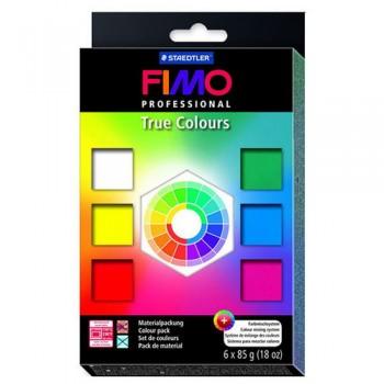 Набор полимерной глины Fimo professional 6 шт. по 85 гр.