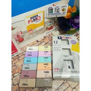 Набор полимерной глины Fimo PASTEL 12*25гр 8023 С12-3