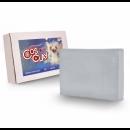 Полимерная глина Cosclay SCULPT Medium Firm Gray, 453гр