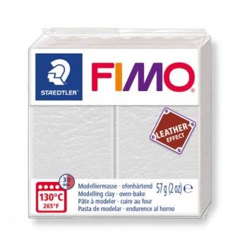 Пластика - полимерная глина FIMO Leather Effect шафраново-желтый  8010-109