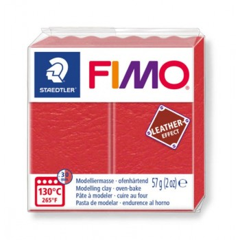 Пластика - полимерная глина FIMO Leather Effect арбуз 8010-249