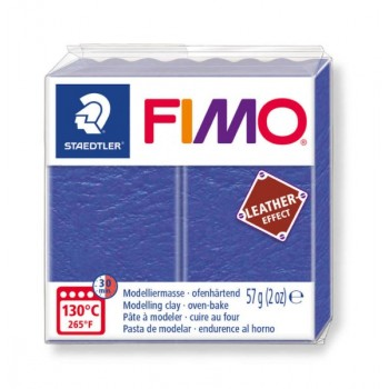 Пластика - полимерная глина FIMO Leather Effect индиго 8010-309