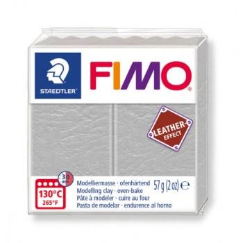 Пластика - полимерная глина FIMO Leather Effect сизый голубь 8010-809