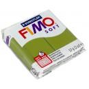 Пластика - полимерная глина FIMO Soft 57г. оливковый 8020-57