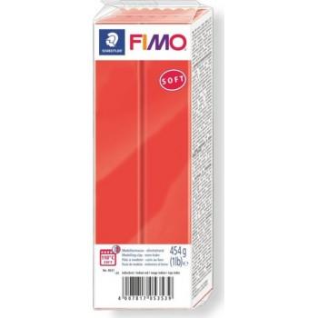 Пластика - полимерная глина FIMO Soft 454г индийский красный (8021-24)