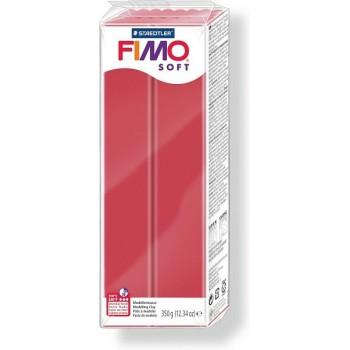 Пластика - полимерная глина FIMO Soft 350г вишнёвый (8022-26)