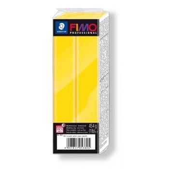 Пластика - полимерная глина FIMO Professional 454г истинно желтый 8041-100
