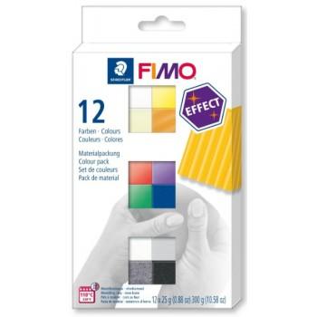 Набор полимерной глины Fimo effect базовый 12*25гр 8013 С12-1