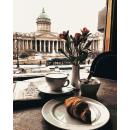 Картина по номерам на холсте Утро в Санкт-Петербурге 40*50