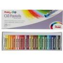 Пастель масляная 25 цветов Pentel 8/60мм, в картоне 1416818