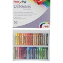 Пастель масляная 36 цветов Pentel 8/60мм, в картоне 1416819