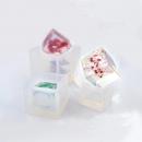 Молд силиконовый куб 2*2см 202030