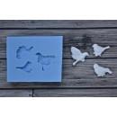 Молд набор маленьких птичек ARTMNB001