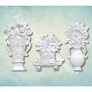"Молд ""Набор цветов в вазах"" ARTMD0507"