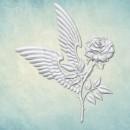 """Молд """"Роза с крыльями"""" (L) ARTMD1086"""