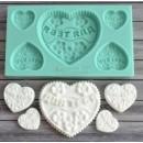 """Молд для изготовления конфет """"Для тебя"""" ARTMD0166"""