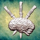 "Молд ""Мозг с тремя кинжалами"" (M) ARTMD0919"