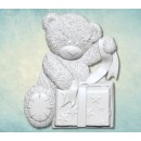 "Молд ""Мишка Тедди с подарком"" (S) ARTMD0789"