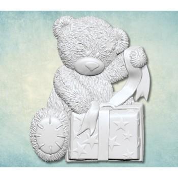 """Молд """"Мишка Тедди с подарком"""" (L) ARTMD0791"""