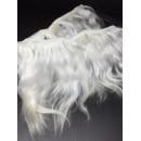 Волосы для кукол натуральные цвет: белый
