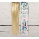 """Волосы - тресс для кукол """"Прямые"""" длина волос 25 см, ширина 100 см, цвет № 613А 2294915"""