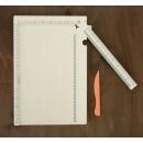 Доска для биговки (сгибов) многофункциональная 34,4х24х0,95 см 2447956