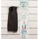 Волосы - тресс для кукол «Прямые» длина волос: 15 см, ширина: 100 см, цвет № 4В 2294870