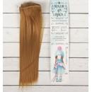 Волосы - тресс для кукол «Прямые» длина волос: 25 см, ширина:100 см, цвет № 16А 2294895