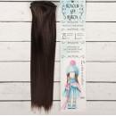 Волосы - тресс для кукол «Прямые» длина волос: 25 см, ширина: 100 см, цвет № 10 2294912
