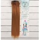 Волосы - тресс для кукол «Прямые» длина волос: 25 см, ширина:100 см, цвет № 27А 2294923