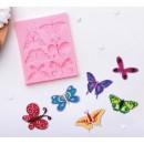 """Молд силиконовый 11×9 см """"Бабочки"""" 2581428"""