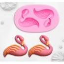 "Молд силиконовый 7,5×4,5 см ""Фламинго"" 3624579"
