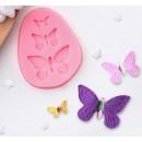 """Молд силиконовый 7,5×6 см """"Бабочки"""" 1166851"""