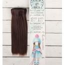 Волосы - тресс для кукол «Прямые» длина волос: 15 см, ширина: 100 см, цвет № 6А 2294880