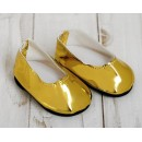 """Туфли для куклы """"Шик"""", длина стопы: 7 см, цвет золото 4258924"""