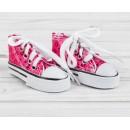 Кеды для кукол «Пайетки», длина стопы: 7,5 см, цвет розовый 4072478