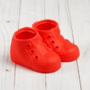 Ботинки для куклы «Шик», длина подошвы: 9,5 см, 1 пара, цвет красный 4433121