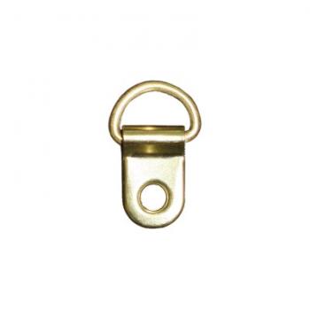 Подвес, петля для фоторамки/картины золото D-39, 25х15х2 мм 10шт