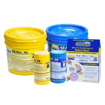 Полиуретан обмазочный для форм EZ-Mix 40, Smooth-On  (0,9 кг)