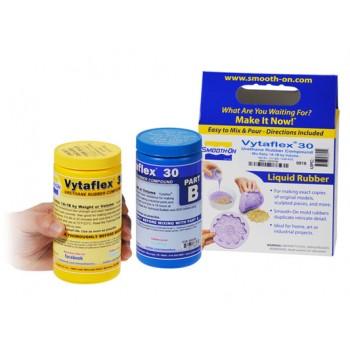 Полиуретан жидкий двухкомпонентный VytaFlex 30, Smooth-On (0,9 кг)
